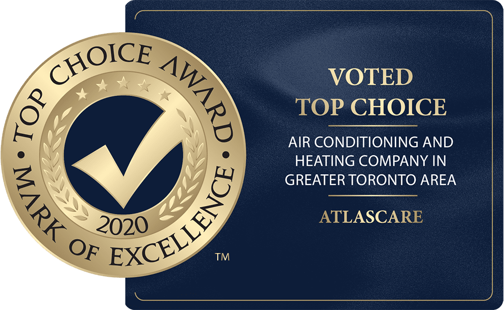 AtlasCare wins Top Choice Award for Air Conditioning and Heating Company…again!