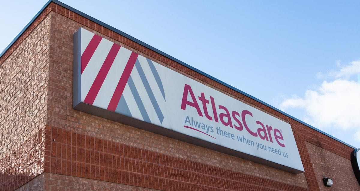 AtlasCare building sign